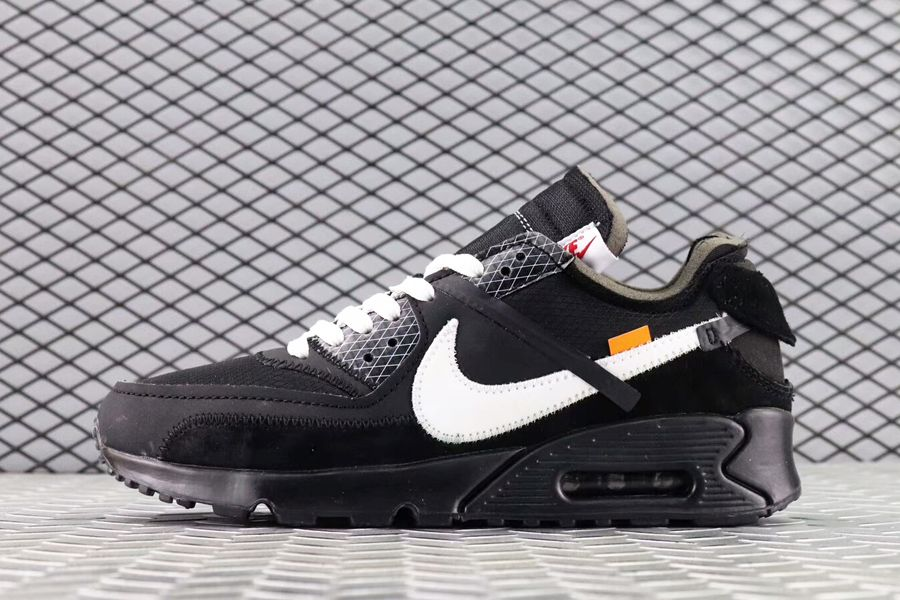 buy online 56a00 cb79f Off-White x Nike : la Air Max 90 prévue prochainement. -