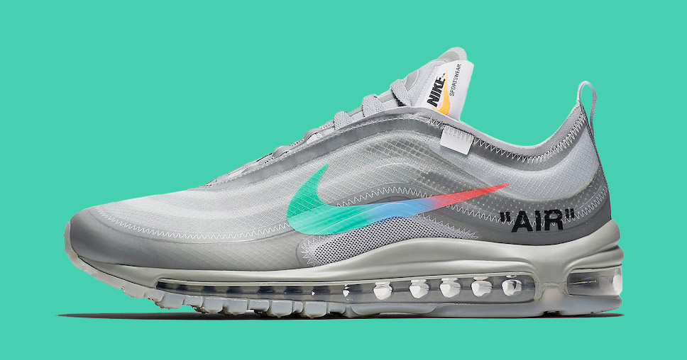 Nike x Off White : les Air Max 97 Wolf Grey Menta. BLOW