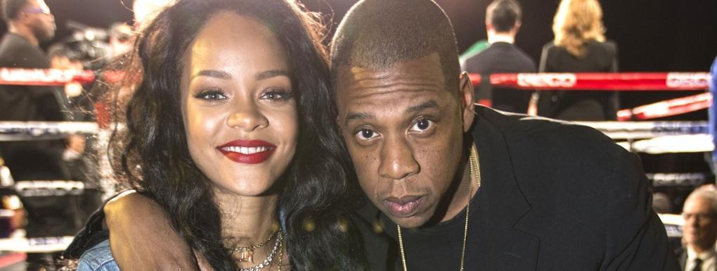 Rihanna et Jay-Z