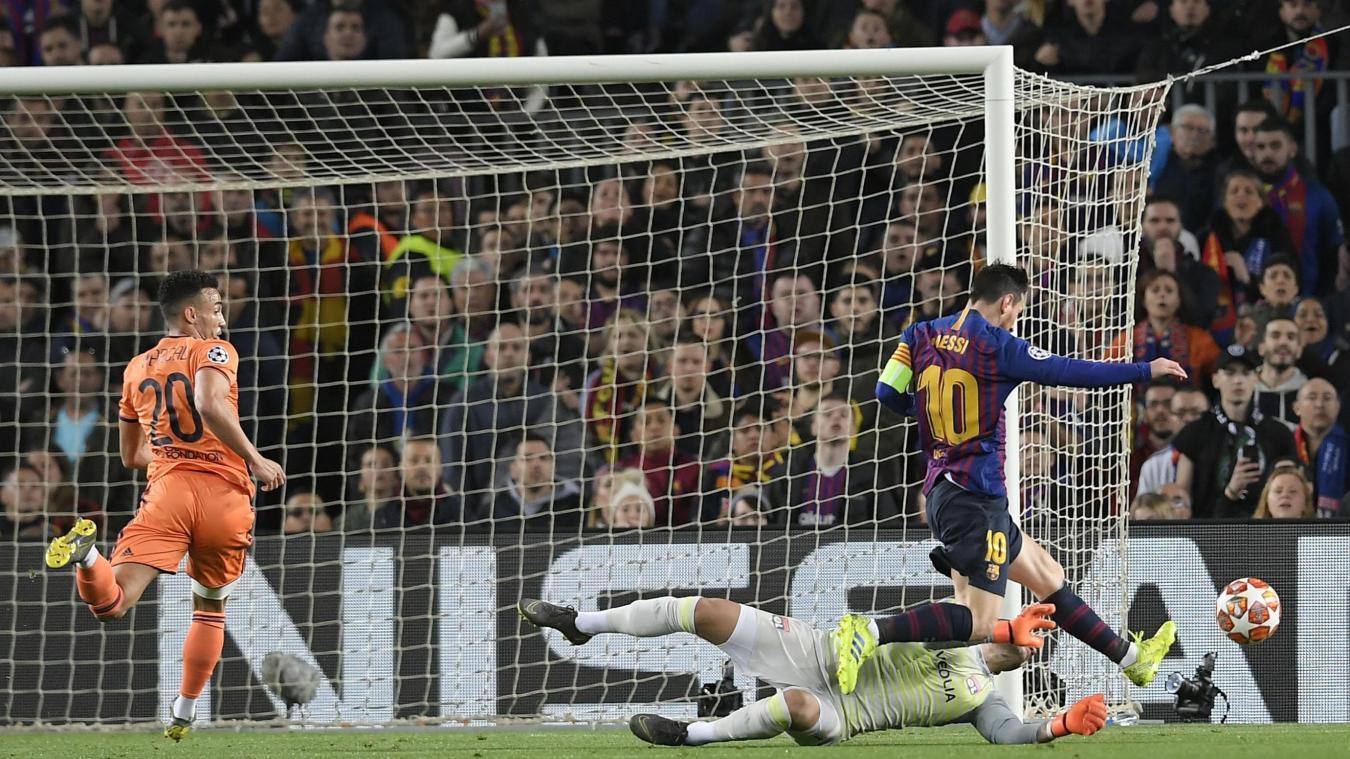 LDC : le Barcelone de Messi donne la leçon à Lyon