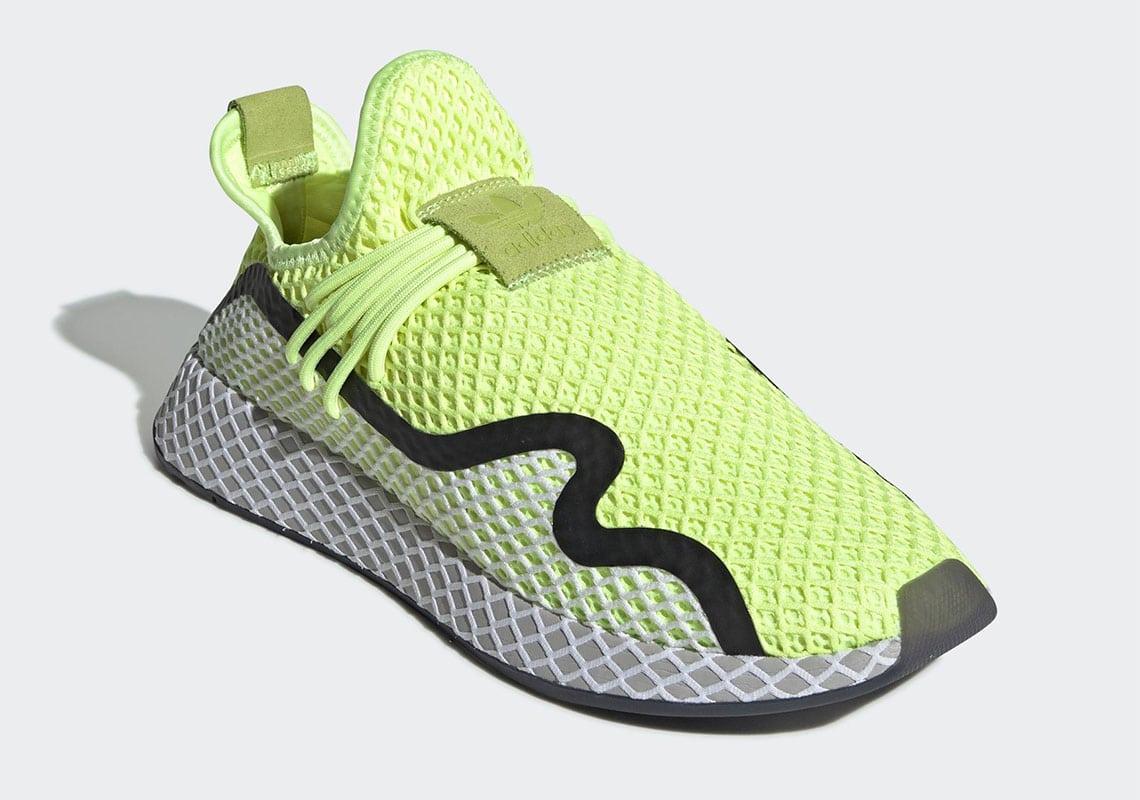 Adidas dévoile la paire Adidas Deerupt en coloris «Volt»