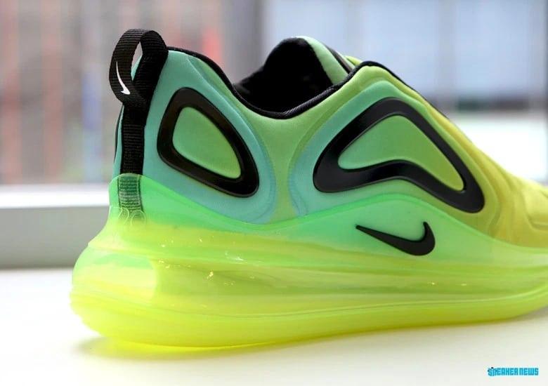 La Nike Air Max 720 «Volt» sera en vente le mois prochain.