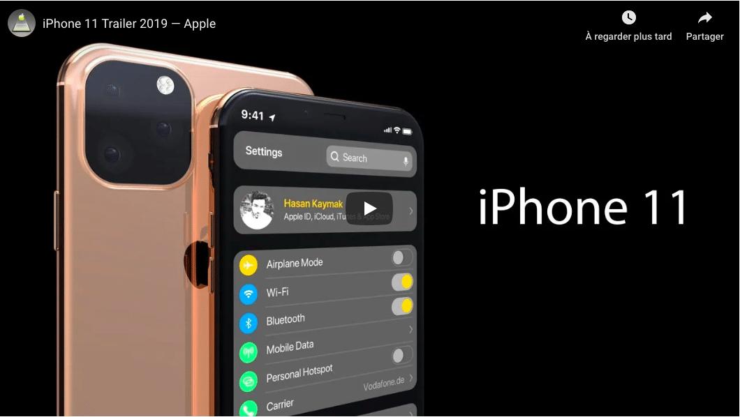 Un teaser qui semble confirmer les rumeurs sur l'iPhone XI