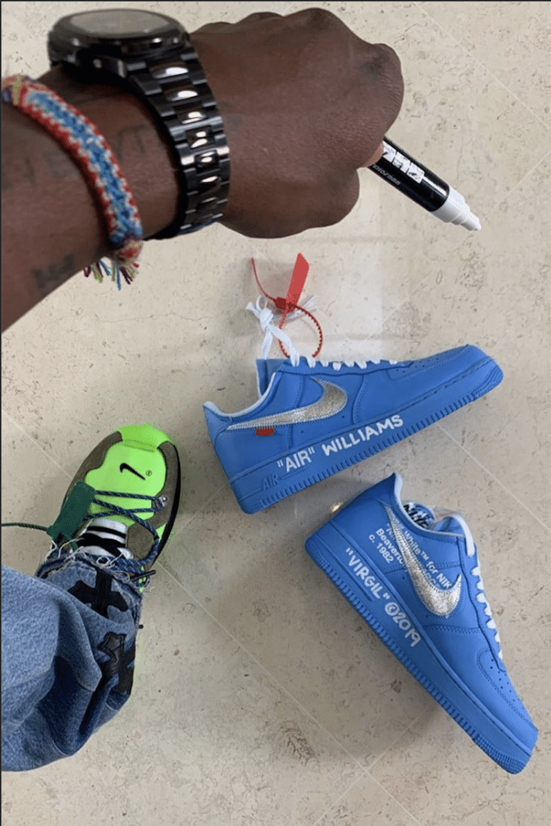 Une paire «Off-White x Nike» pour Serena Williams