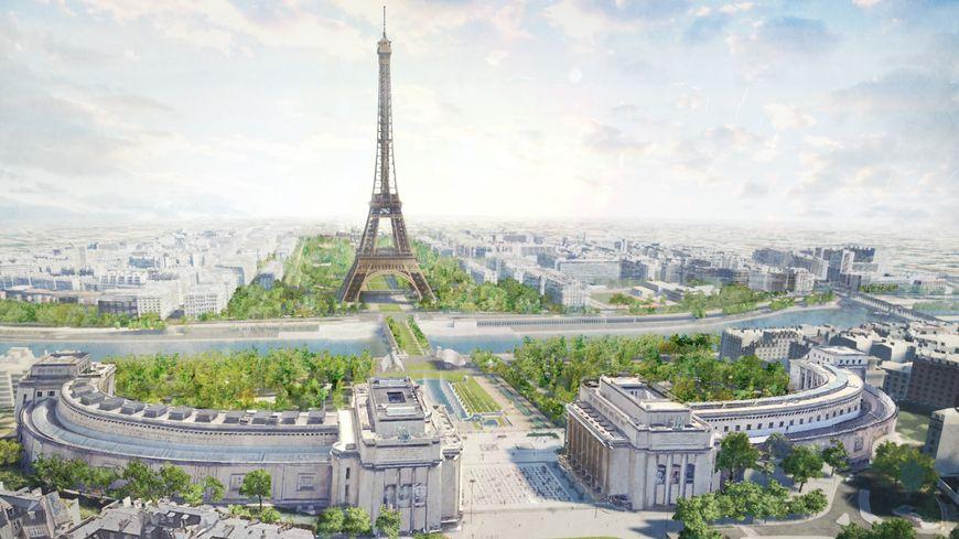 La Tour Eiffel se prépare elle aussi pour les J.O. de 2024