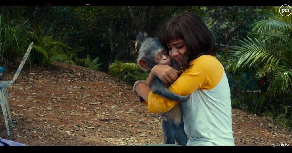 Un premier aperçu de Chipeur dans Dora l'Exploratrice, le film