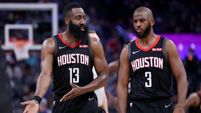Chris Paul et James Harden