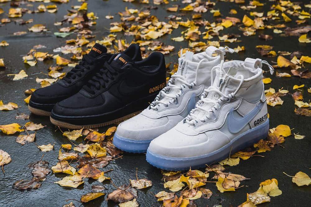 """Regardez de plus près le Nike Air Force 1 Low & High """"GORE-TEX"""""""
