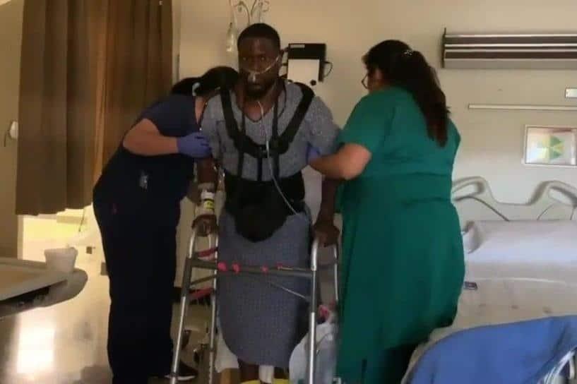 Kevin Hart nous fait part d'une vidéo inspirante montrant comment se remettre d'un accident