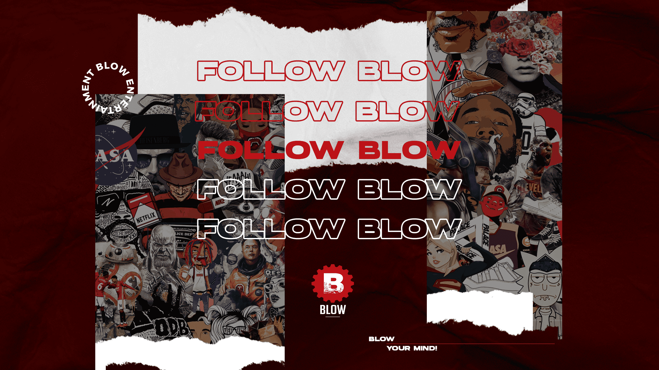 Blow Bannière Follow Blow 2020