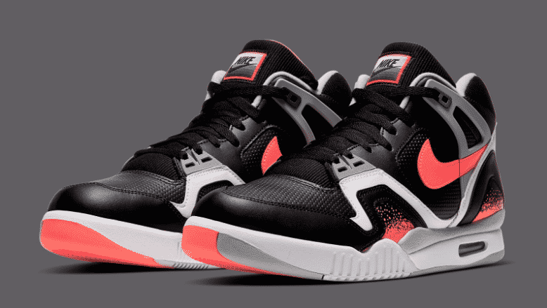 Nike Air Tech Challenge II Black Lava 1
