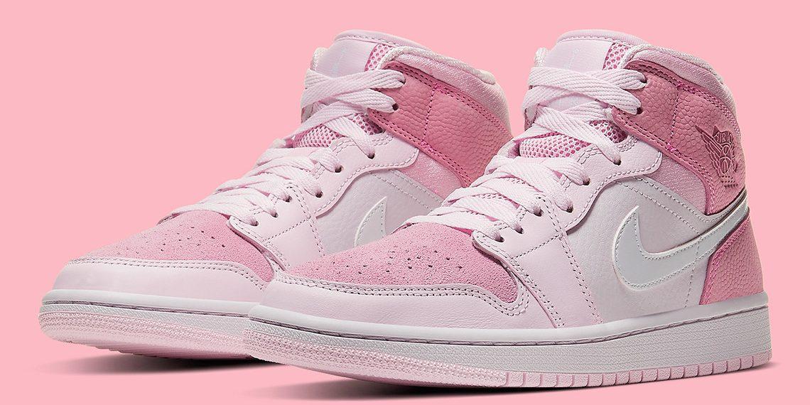 "Où acheter la Air Jordan 1 Mid WMNS ""Digital Pink"" ? !"
