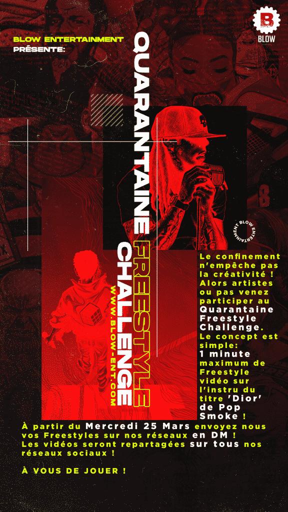 Participez au 'Quarantaine Freestyle Challenge' !