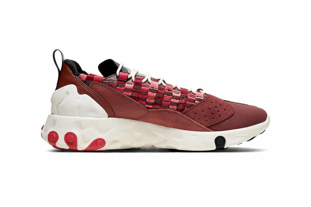 """Nike React Sertu arrive en """" Bark Red """""""