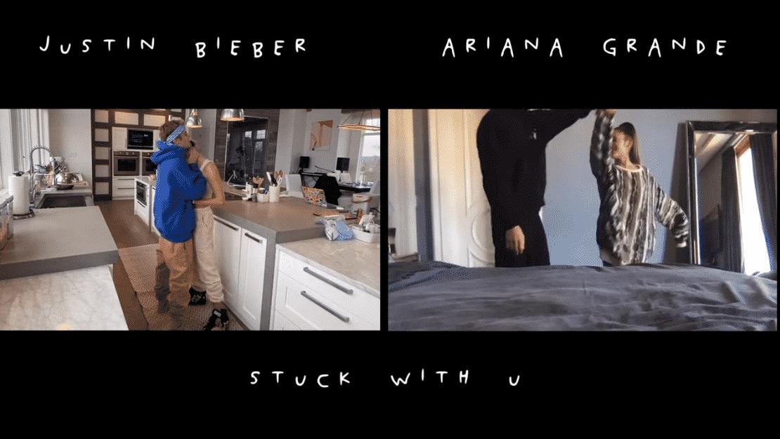 REGARDEZ : le nouveau duo de Justin Bieber et Ariana Grande