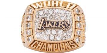 Kobe Bryant : une de ses bagues vendue plus de 200 000 dollars