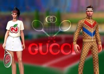 Gucci annonce sa collaboration avec Tennis Clash