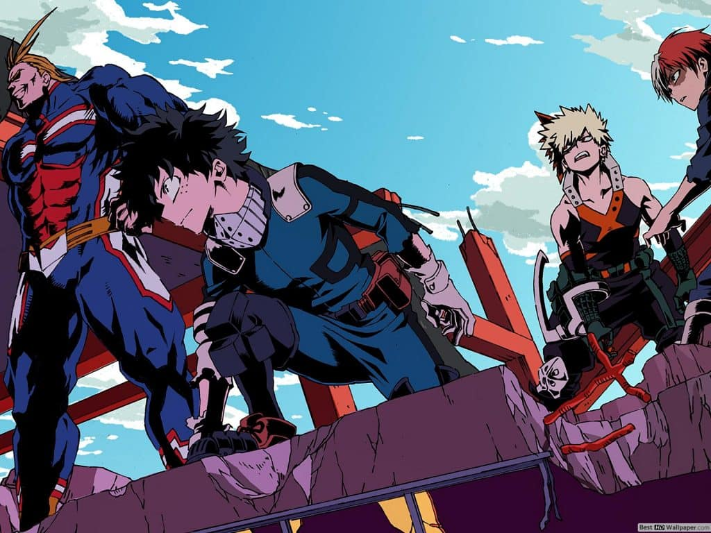 My Hero Academia Saison 5 : streaming - Date de sortie