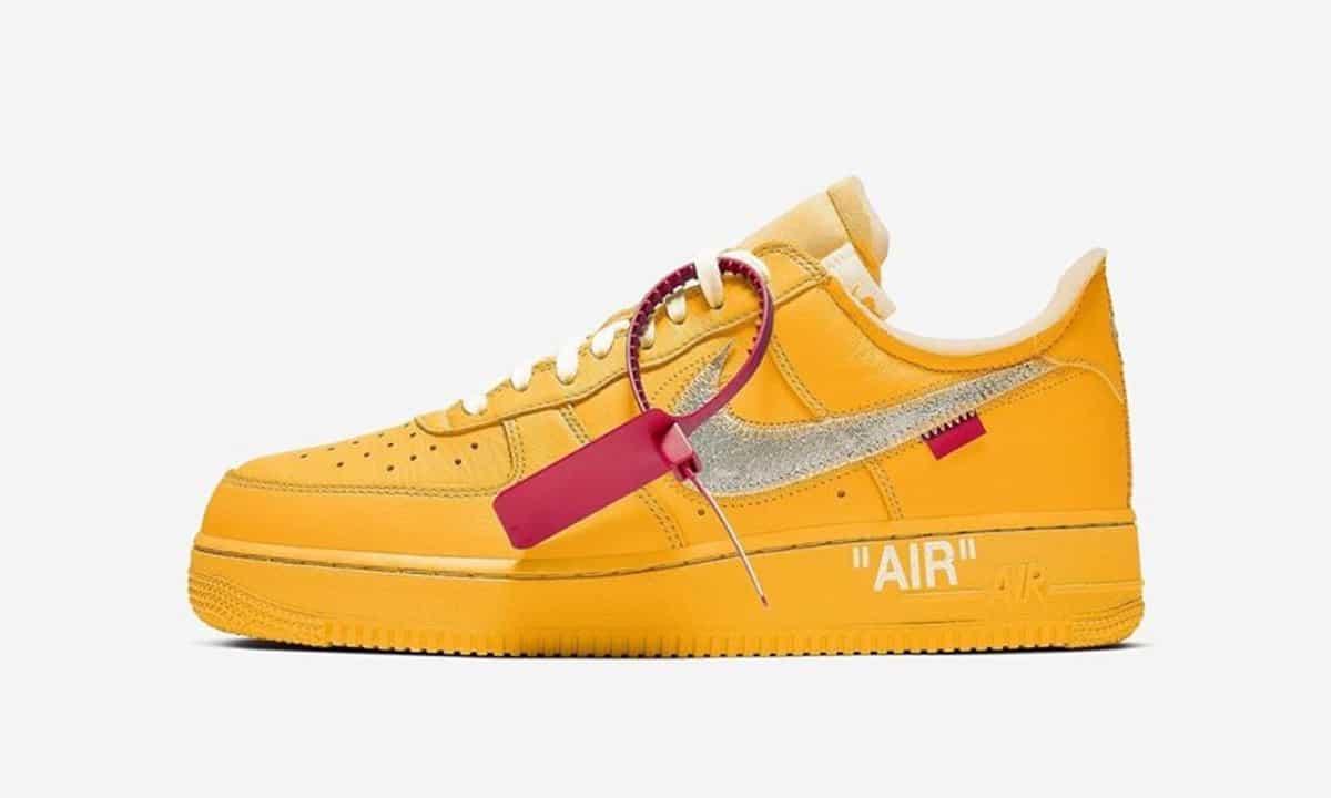 La Off-White x Nike Air Force 1 Low