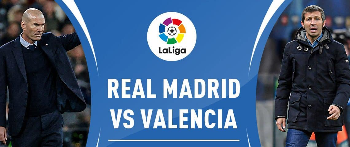 Regarder Real Madrid contre Valence en live streaming