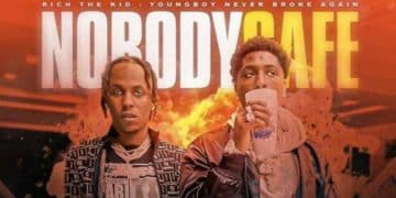 """NBA YOUNGBOY & RICH THE KID ANNONCENT LE PROJET COMMUN """"NOBODY SAFE"""""""