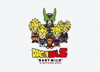 Une collection Dragon Ball Z x BAPE sortira dans la semaine