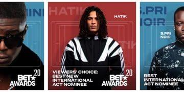 Ninho, Hatik et S.Pri Noir nominés pour les BET Awards 2020 !