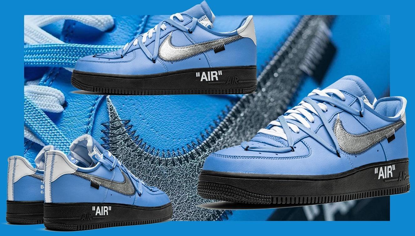 Aperçu du sample Off White x Nike Air Force 1