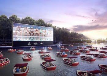Que diriez-vous de séances cinéma sur la Seine, cet été ?