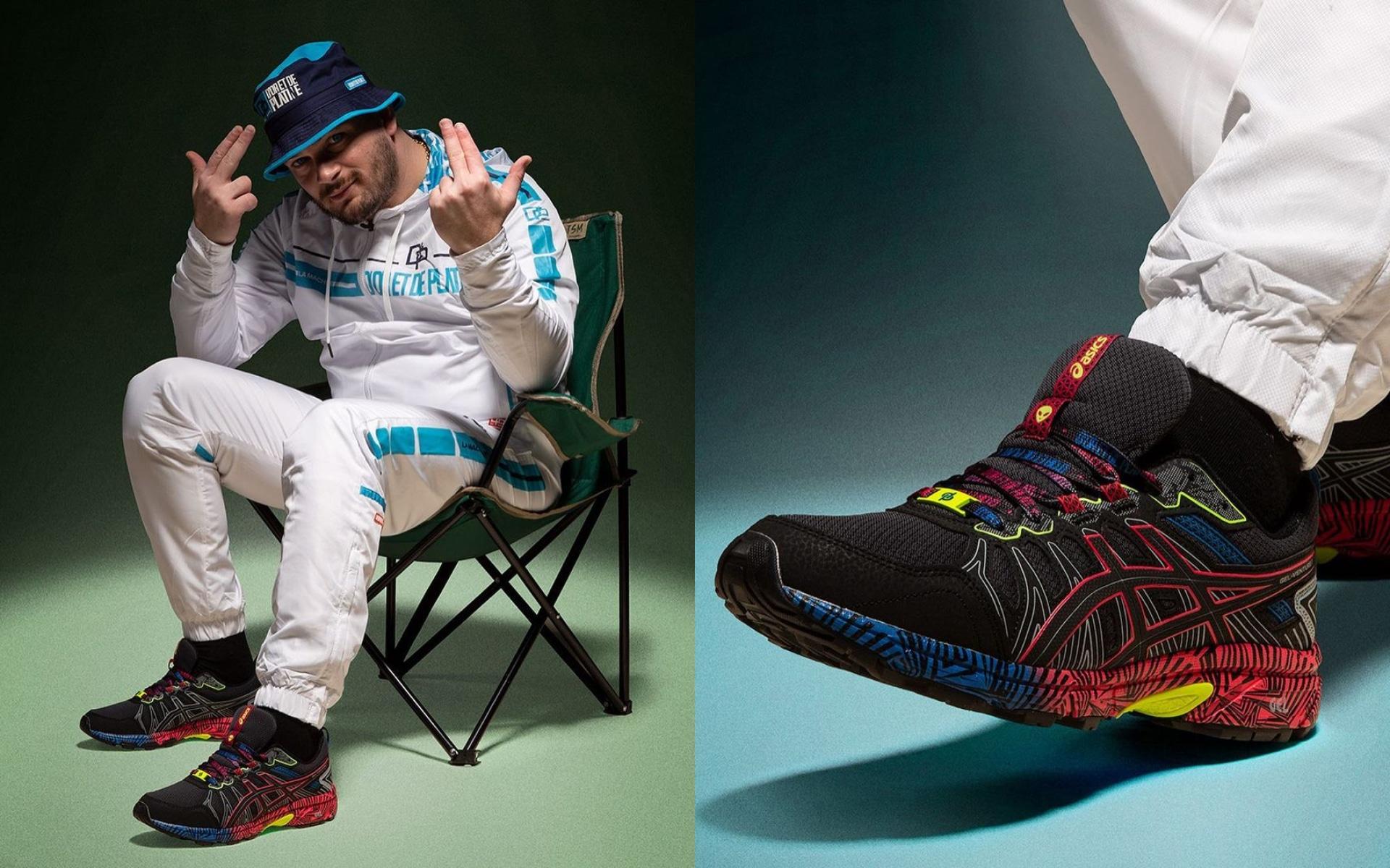Jul : Nouvelle paire de sneakers la D&P x Asics Gel Venture 7 Ovni ...
